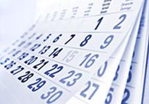 Raspored treninga – Jesen 2016